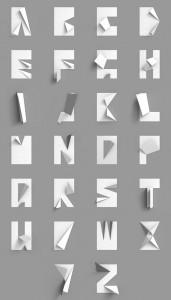ウォールアートアルファベット