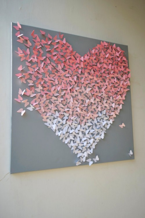 ハート 折り紙:折り紙で作るリボン-divulgando.net